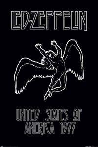 LED ZEPPELIN - ICARUS POSTER - 24x36 MUSIC 53087