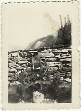 WW2 Foto Militare Caduto Partigiano Guerra Civile Carabinieri Val Cenischia RGdF