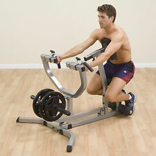Body Solid SEATED ROW MACHINE Weight Plate Gym Rowing Rower GSRM40