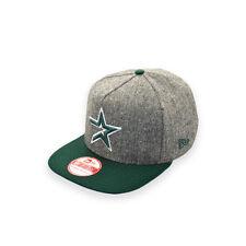 NEW ERA HOUSTON ASTROS TWEED GREEN A-FRAME SNAPBACK CAP HAT