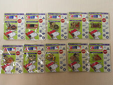 Lot of 10 Full Set Peanuts SNOOPY x MLB collection pins Japan Limited