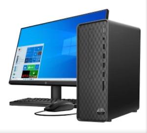 NEW HP S01-PF1013W SLIM DESKTOP INTEL 3.4GHz 4GB COMPUTER 1TB 7200RPM HD DVDRW