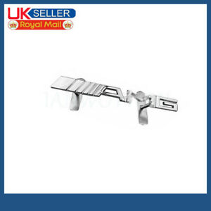 Metal Silver AMG Logo Auto Badge For Mercedes Benz Front Grille Hood Decoration
