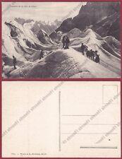 VALLE D'AOSTA COURMAYEUR 195 ALPINISMO - MONTE BIANCO - MONTAGNA Cartolina