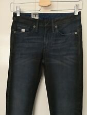 G-Star Raw Woman Waxed Jeans Size 26 L 30 BNW