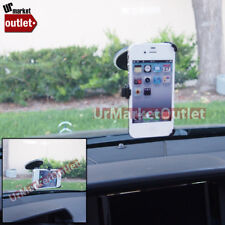 Windscreen Windshield Car Mount Holder Short Fit Cell Mobile Apple iPhone 4/4S