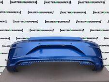 VW Scirocco R Line 2014-2017 Rear Anti-Chocs Dans Blue Genuine [v592]