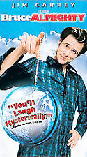 Bruce Almighty [VHS, 2003, PG-13] Jim Carrey, Jennifer Aniston, Morgan Freeman