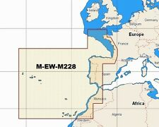 - map W90 NT Max C M-EW-M228 tabla de Occidente área amplia costas europeas C-tarjeta