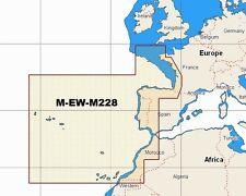 - map W90 NT Max C M-EW-M228 tabla de Occidente área amplia costas europeas C-tarjeta