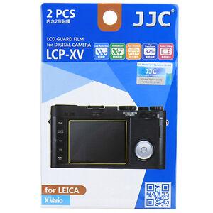 JJC LCP-XV LCD Guard Film Camera Screen Display Protector for LEICA X Vario
