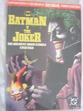 BATMAN Vs the Joker-the greatest Joker stories ever told-DC-Cover Brian holland
