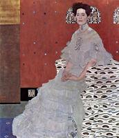 Dream-art Oil painting Gustav Klimt - Female Portrait of Fritza Riedler canvas
