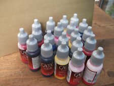 119 X VALLEJO GAME COLOR FULL RANGE ACRYLIC PAINTS FULL SET