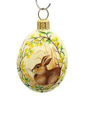 New ListingPatricia Breen So Spring Bunny Light Yellow Medium Egg Jeweled Spring Easter