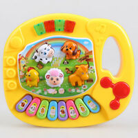 Musical Educational Animal Farm Piano Developmental Music Toys for Baby Kids