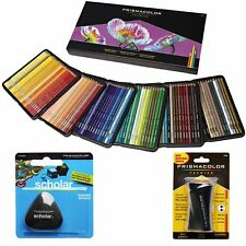 PrismaColor Premier Soft Core 150 Coloured Pencils Prismacolour Sharpener Eraser
