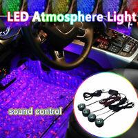 Auto dekorative Lichter LED Innenraumdekoration Lampe Buntes Licht USB 12V N
