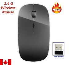 New 2.4GHz Optical Wireless Mouse & USB Receiver Portable For PC desktop Laptop
