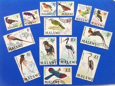 Malawi 1968 Birds Set Of 14 Used SG 310/23. (cat £90)