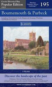 Bournemouth & Purbeck(Cassini Popular Ed.Historical Map)(Sht.map,folded,2007)NEW