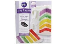 """5 Piece Easy Layers! 6"""" Round Cake Tin Set"""
