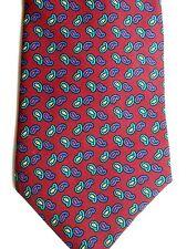 """Jos. A. Bank Men's Silk Tie 57"""" X 3.75"""" Multi Color Paisley"""
