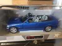 BMW E36 M3 Cabrio / Estorilblau 1:18 UT Models