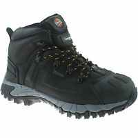 DICKIES MEDWAY BLACK SAFETY BOOTS SIZE UK 12 EU 47 FD23310 WATERPROOF HIKER