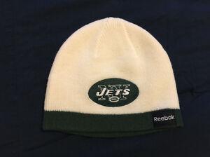 NFL Reebok  Boys Beanie Cap Hat New York Jets Football Size Boys 8 to 20