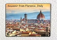 SOUVENIR FROM FLORENCE ITALY FRIDGE MAGNET -ldb7X