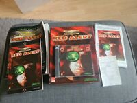 WESTWOOD STUDIOS Command & Conquer: Red Alert PC Game w Manual & Recipt + guide