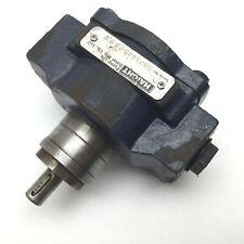 """Haight ED530AC Gear Pump, Ports: 3/4"""" NPT, Shaft Diameter: 0.5"""""""