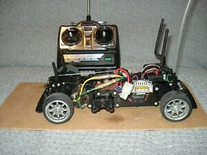 tamiya mini cooper chassis fully working