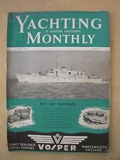 VINTAGE THE YACHTING MONTHLY MAGAZINE AUGUST 1949