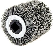 rullo in nylon abrasivo grana 80 per rusticatrice-spazzolatrice Ø100x70 mm.