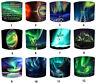 Nördlich Licht Lampenschirm Passt Ideal zu Aurora Borealis Nordlichter Wandkunst