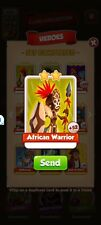 African Warrior - (Heroes) - Coin Master - Immediate Delivery