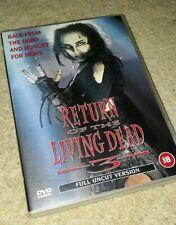 RETURN OF THE LIVING DEAD 3 - DVD - FULL UNCUT VERSION