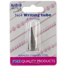 PME #4 Tubo Boquilla Acero Inox Decoración Escritura Glaseado Pasta Azúcar