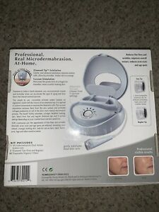 NuBrilliance Professional Real Microdermabrasion At Home Dual Action System New