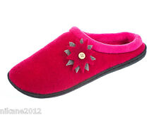 coolers ladys slippers  sizes 4 5 6 7 8 fuchsia grey brown free postage new cool