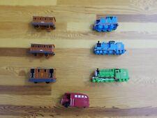 Thomas the Tank Engine Mini Miniatures Train Engines Cars Lot of 7 Cake Topper