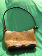 RELIC Brand Handbag Purse Brown Leather Strap Small