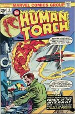 Human Torch #5 Vg/F, Stories from Strange Tales, Marvel Comics 1975
