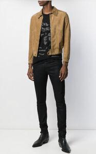 Saint Laurent Brown Short Zip Up jacket - BNWT- RRP $4,100 AUD
