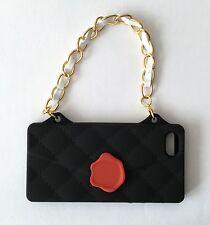 UNIQUE BLACK HANDBAG Phone Cover For iPhone 5/5s UK SELLER