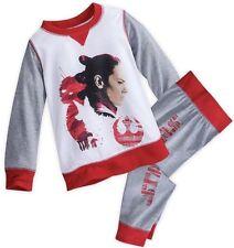 Disney Star Wars Rey Pajamas Girls Sz 7/8 New Free Shipping