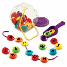 Learning Resources Smart Snacks Abc Lacing Sweets , New, Free Shipping
