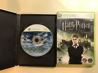 Harry Potter Xbox 360 Lot - HP and the Half-Blood Prince & Order of the Phoenix